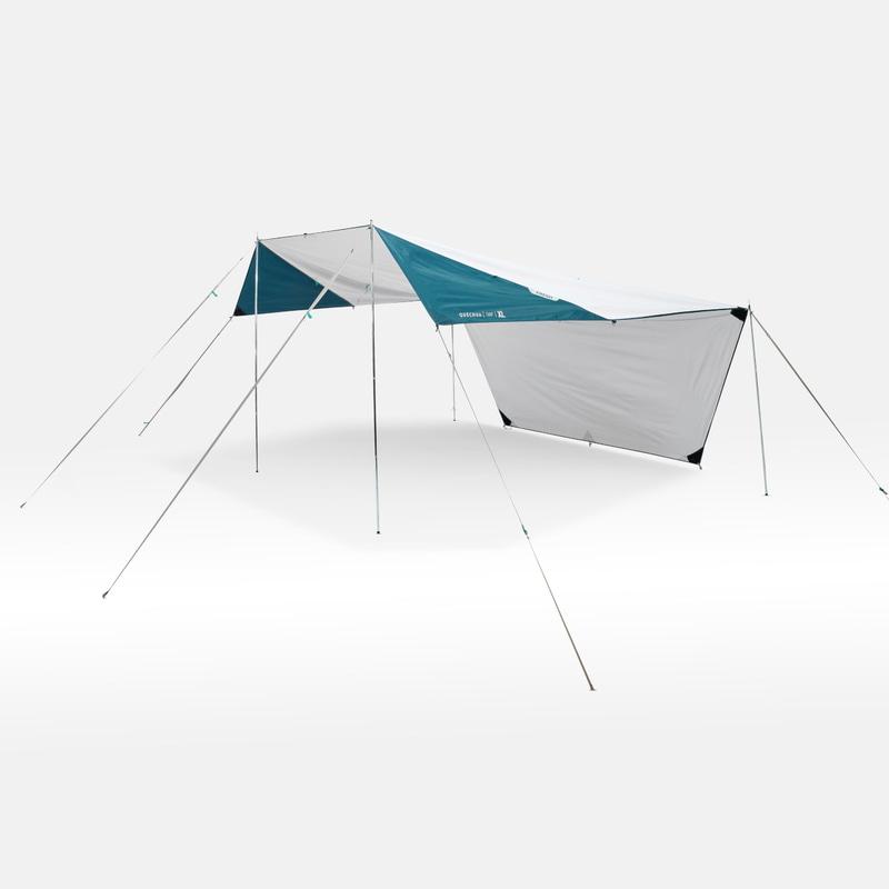 「QUECHUA(ケシュア)キャンプ 多機能 タープ・ヘキサタープ UVカット FRESH(XLサイズ)」
