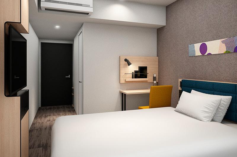 チョイスホテルズジャパンが「コンフォートホテル京都堀川五条」を開業した