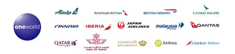 ワンワールドアライアンス加盟航空会社