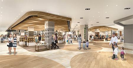 大和ハウス工業が広島市西区の「アルパーク」を2023年春に全面改装オープンする