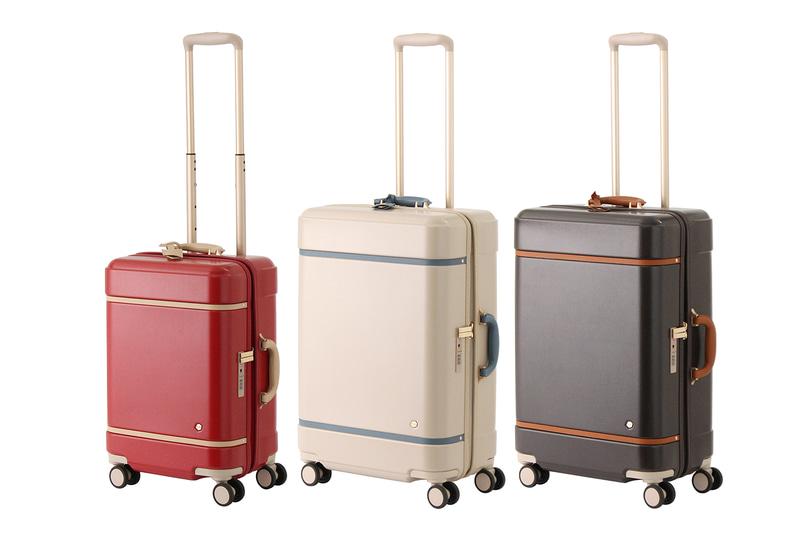 エースは「HaNT」からヴィンテージトランク風スーツケース「ノートル」を発売した