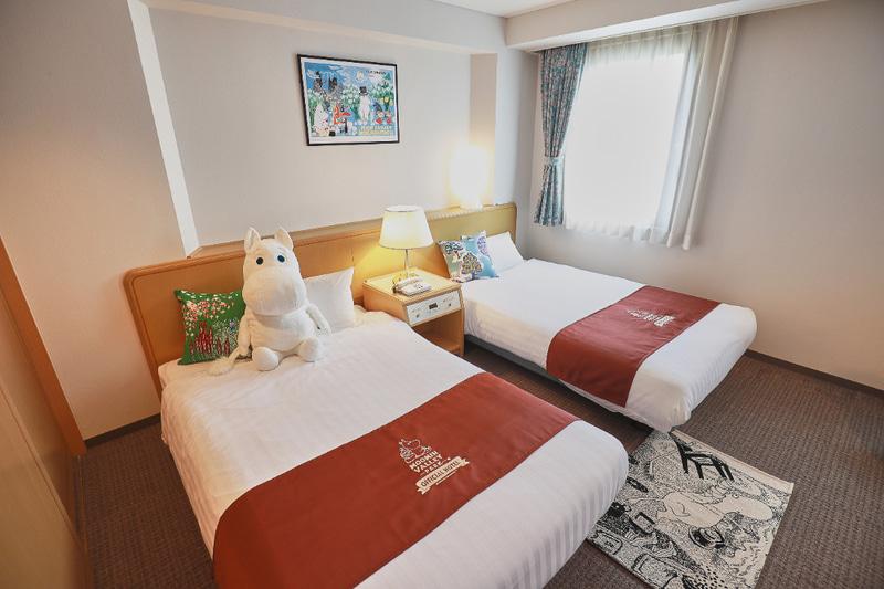 ムーミン物語は「ムーミンバレーパーク」の新規オフィシャルホテルを発表した