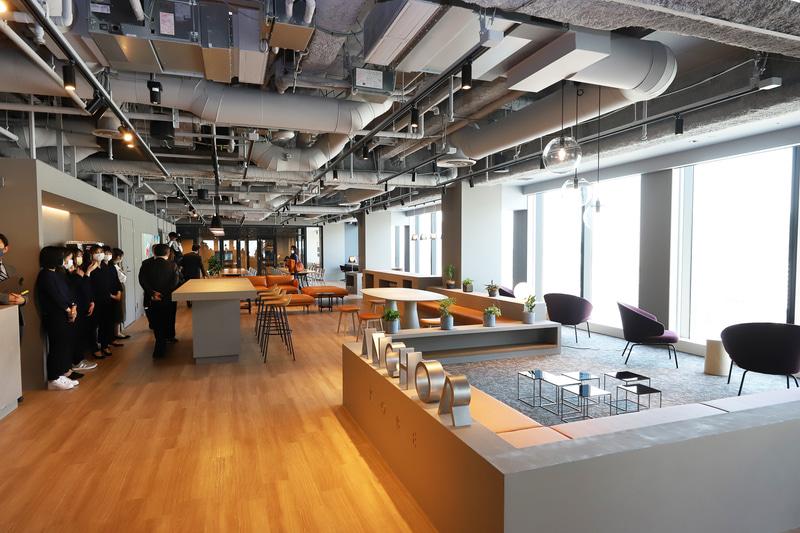 15階の「ANCHOR KOBE」は神戸市が産官学連携の事業創出拠点と位置付ける施設