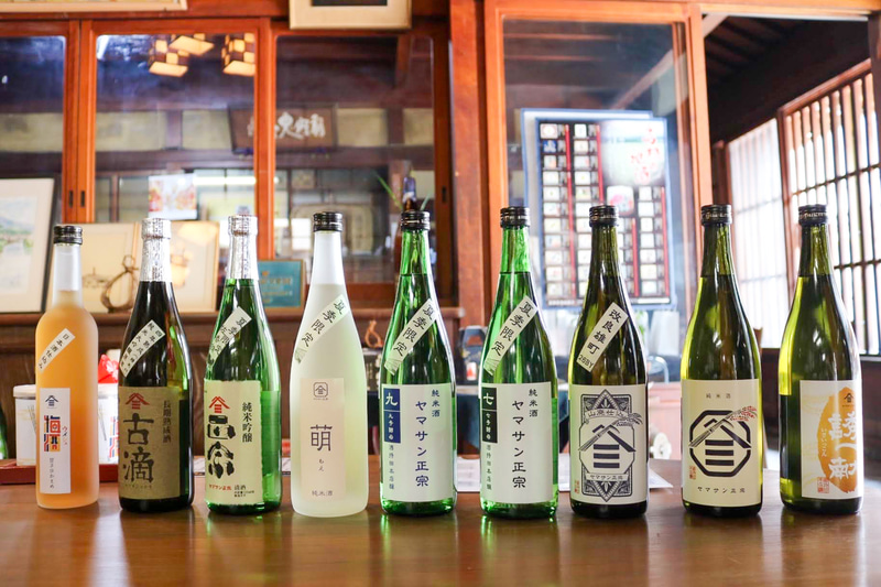 酒持田本店の地酒