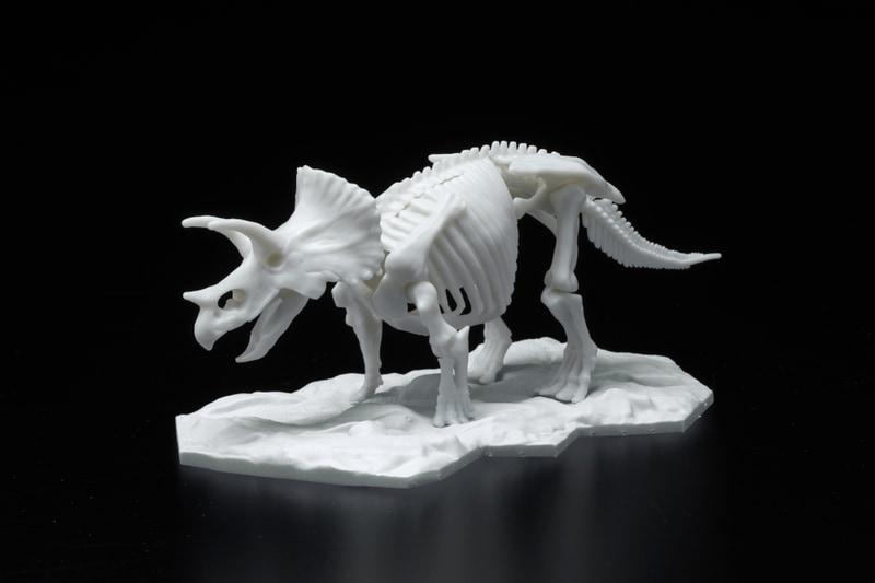 「恐竜骨格プラモデル トリケラトプス」