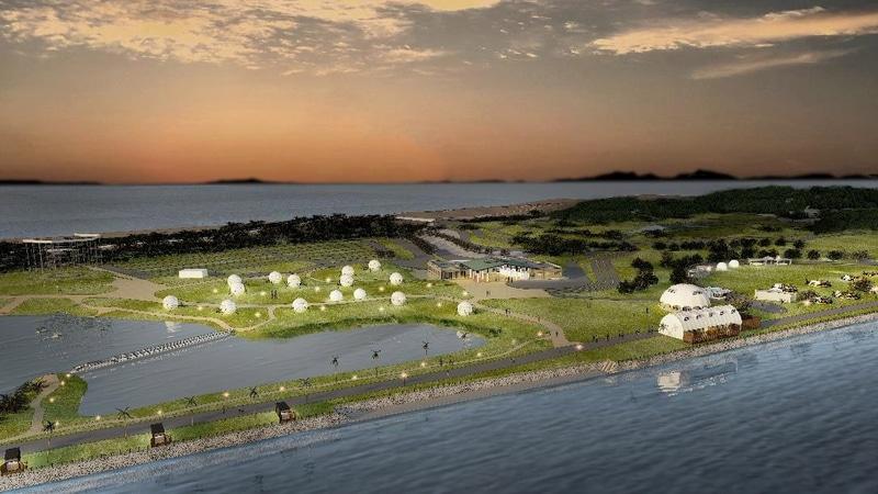福岡県東区「海の中道海浜公園」に「滞在型レクリエーション拠点」。2022年3月開業予定