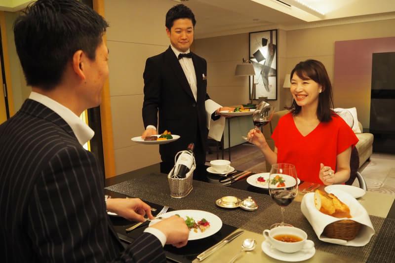 ホテルニューオータニ(東京)「スーパールームサービス」