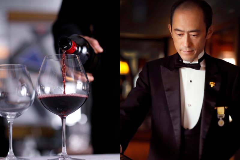 「グランヴァン」のグラスワインサービス