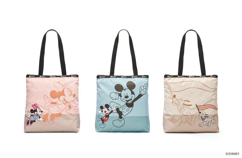左から「Shadow Minnie Tote」「Shadow Mickey Tote」「Shadow Pluto Tote」