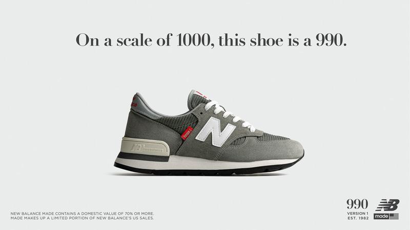 ニューバランスは「990」の誕生40周年を記念して歴代モデルを復刻する