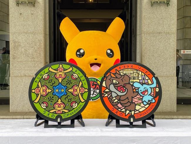 国立科学博物館前と東京国立博物館に「ポケふた」が設置