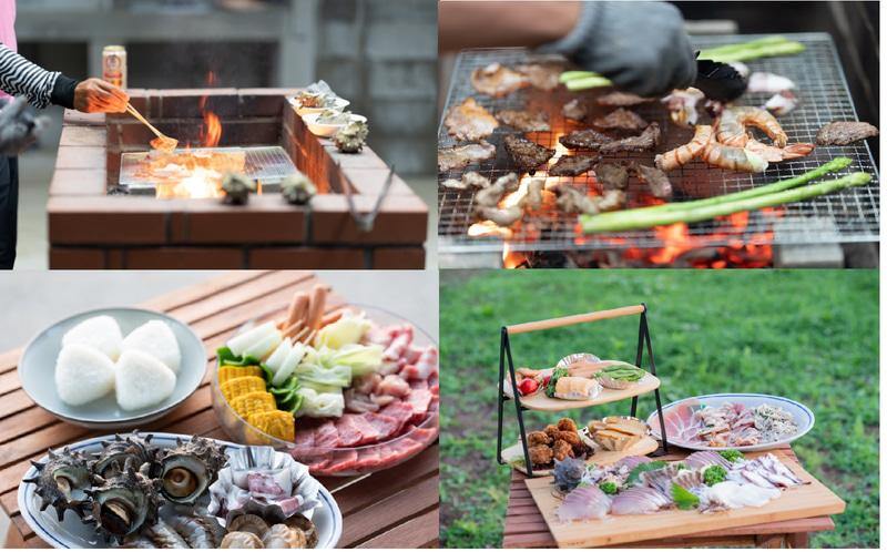 壱岐島の新鮮食材をBBQで堪能