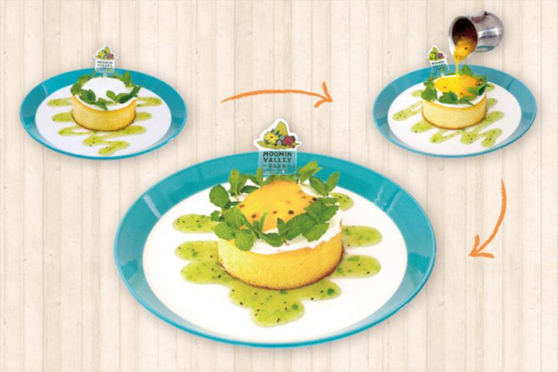 ミッドサマーパンケーキ(1600円)