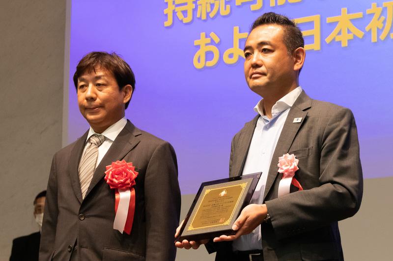 国内・訪日旅行部門のデジタル活用部門グランプリを受賞した近畿日本ツーリスト首都圏