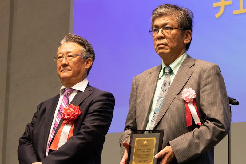 海外旅行部門の審査員特別賞を受賞したユーラシア旅行社