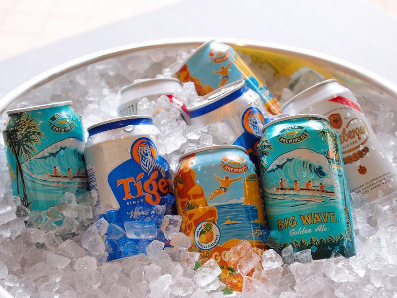 マリンリゾートで有名な各国のビール