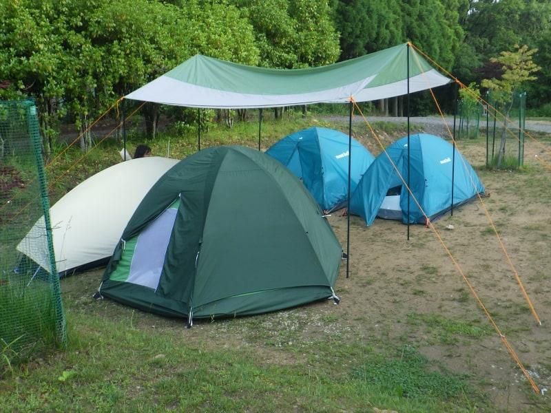 奈良県曽爾村の垰(TAWA)キャンプ場で一晩、シュラフを使用してみた