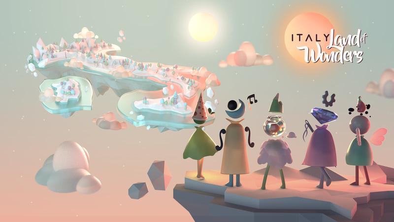 イタリア文化を世界に発信するゲームアプリ「不思議の国 イタリア」が公開