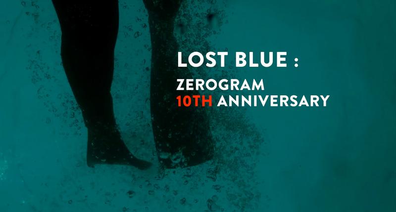 ZEROGRAMがブランド設立10周年プロジェクトを実施する