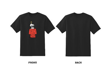 Andre×SNOOPY Tシャツ(各1万4300円)