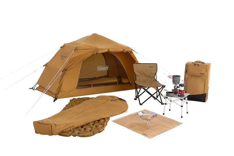 ソロキャンパー向けの新製品「ソロキャンプスタートパッケージ」