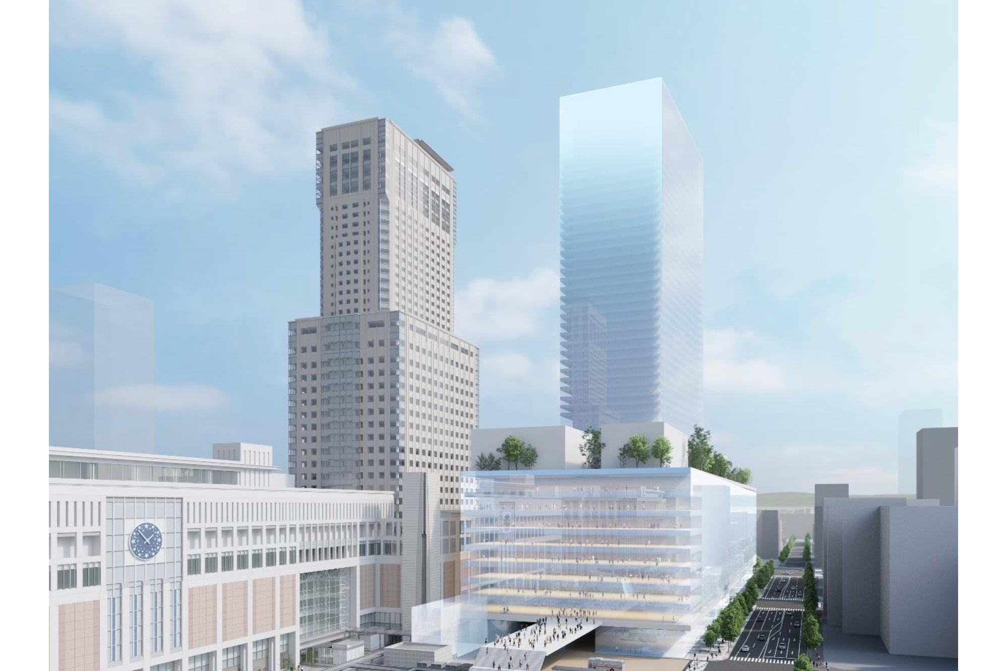 JR北海道は2022年度から北海道新幹線札幌延伸に向けた新幹線高架橋工事に着手。併せて、隣接する再開発ビルのマスターアーキテクトに内藤廣氏を招聘したことを発表した