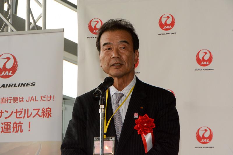 関西経済連合会の亘信二 関西担当委員長
