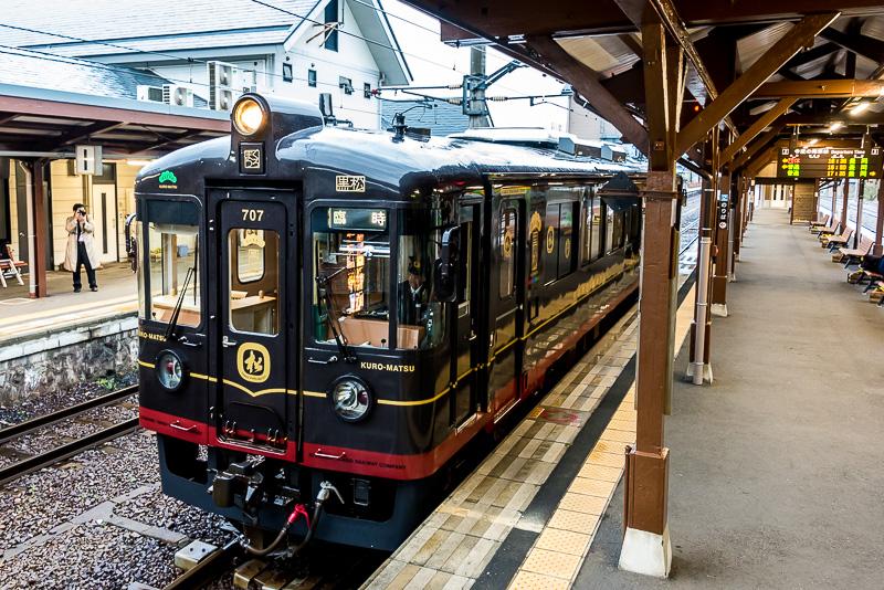 京都丹後鉄道は降雪地帯でもあるので、車両のヘッドライトは視界を確保するため3灯あるのが特徴