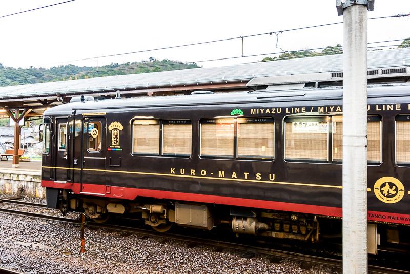 全長は20m級で、ローカル線用気動車としては大型。「くろまつ」や「あおまつ」「あかまつ」は他のKTR700形と比べて搭載しているクーラーが異なる
