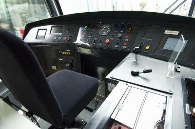 「ポートラム」の運転席に座れる貴重な体験