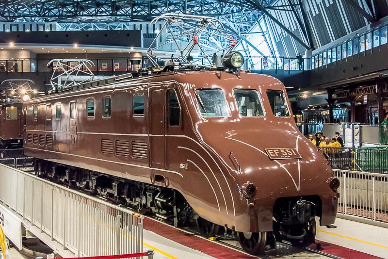 鉄道博物館は、新しい展示車両として「EF55」形電気機関車「EF55 1」を4月12月より公開