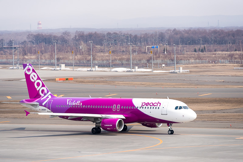 Peach Aviationのエアバス「A320-214」