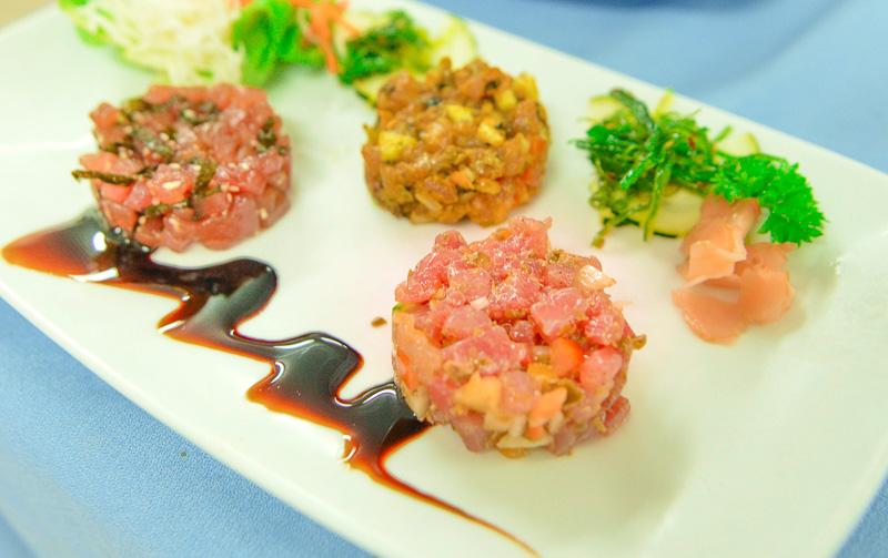 ポリネシア料理とフランス料理のエッセンスが融合した料理を提供