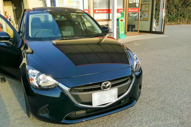 前日の尾道松江線取材でお世話になったレンタカー。そうそう、広島といえばマツダも忘れてはいけない