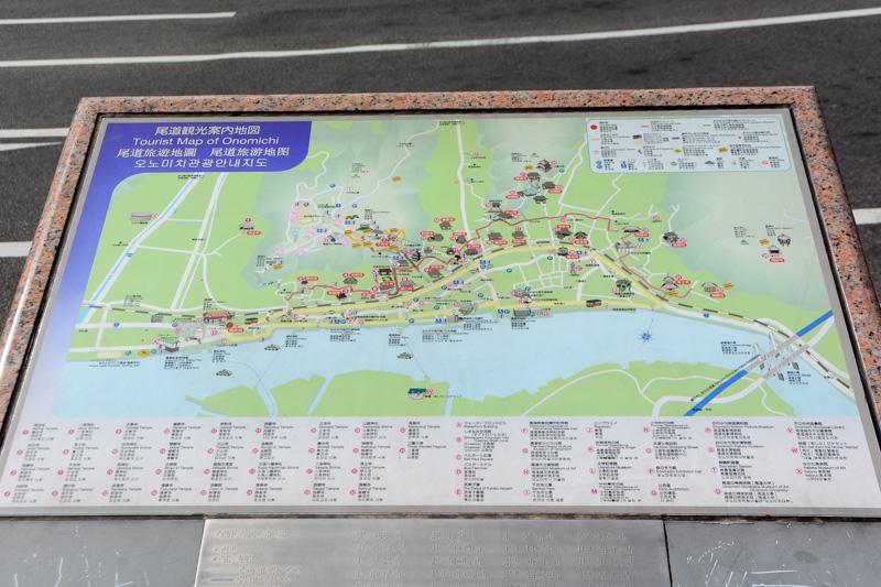 駅構内に観光案内所、駅前には観光案内地図。今回記者がメインに使った(ホテルのロビーでもらった)地図は、この観光案内地図に似たものだった