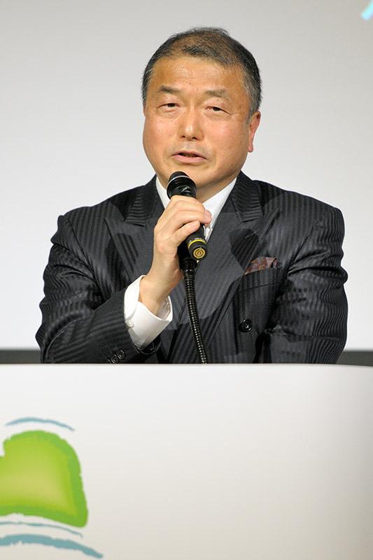 ニューカレドニア観光局日本局局長の白石博英氏。今回のプロモーションを機会に新しい顔のニューカレドニア、今までとは違った切り口を紹介したいとした