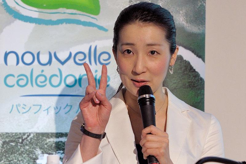 司会の安田佑子氏により、ニューカレドニアのプロモーション内容が紹介された