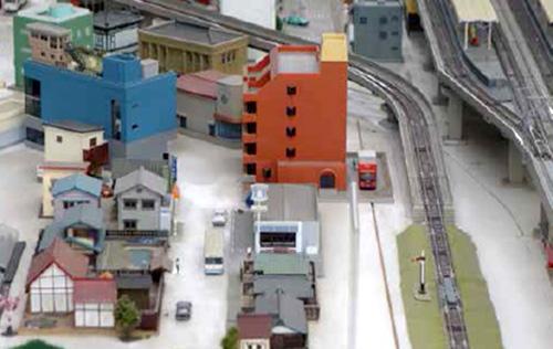 羽田空港周辺を模したジオラマ展示(イメージ)