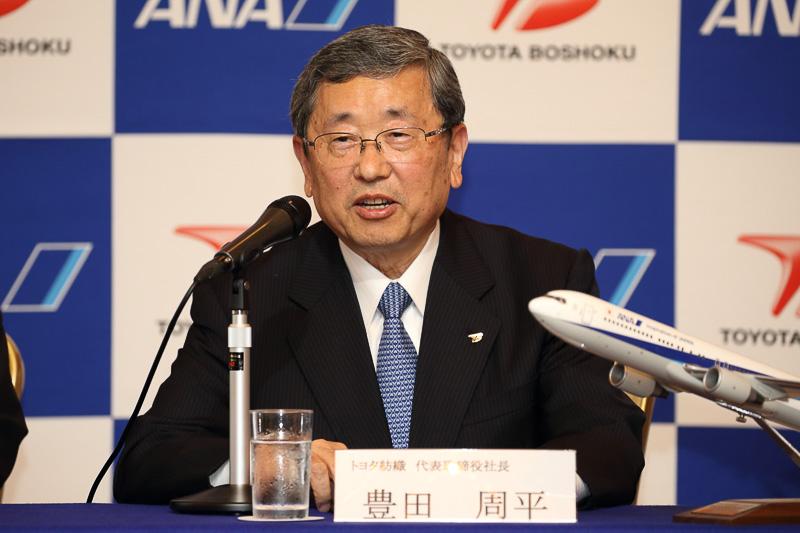 トヨタ紡織株式会社 代表取締役社長 豊田周平氏