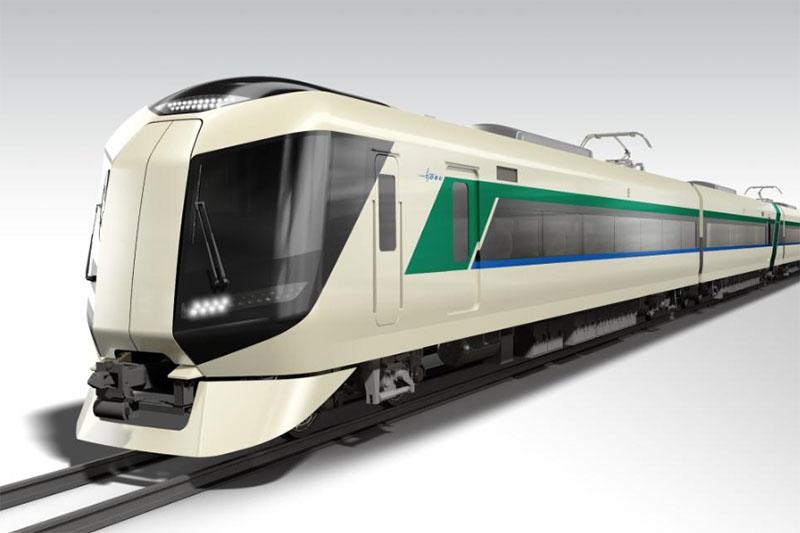 東武鉄道が2017年に新しく導入する「500系」車両。デザインは奥山清行氏が代表を務める「KEN OKUYAMA DESIGN」が監修
