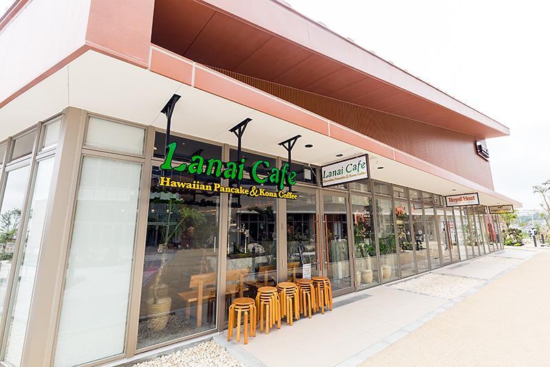 パンケーキカフェ「ラナイテラス」などが入る棟(Village E)。Rycom Villageは5棟で構成されている
