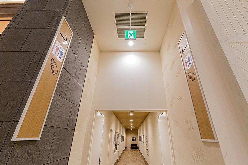トイレと授乳室