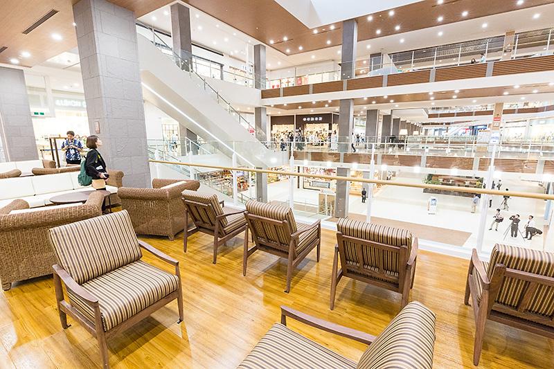 3階の休憩スペース