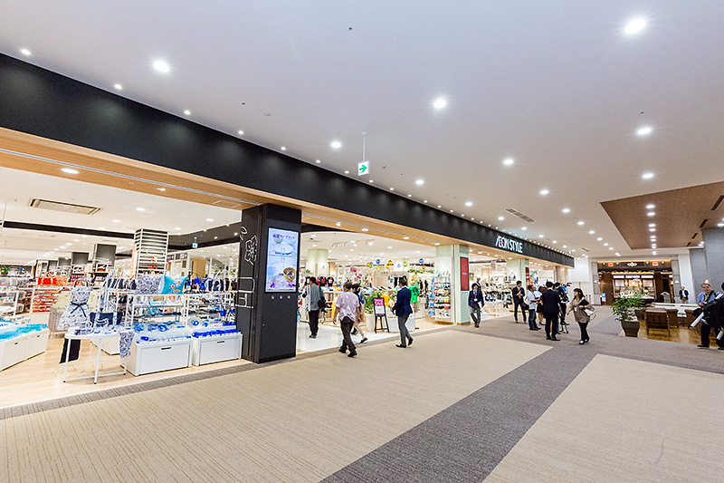 AEON STYLEの3階にある沖縄ブランドコーナー