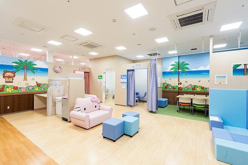 授乳室や休憩スペースも用意
