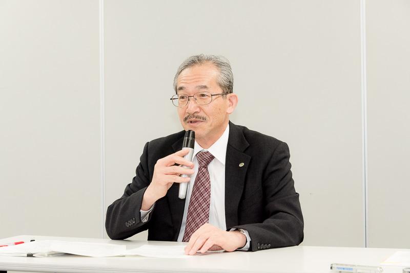 東日本高速道路株式会社 取締役兼常務執行役員 管理事業本部長 山内泰次氏