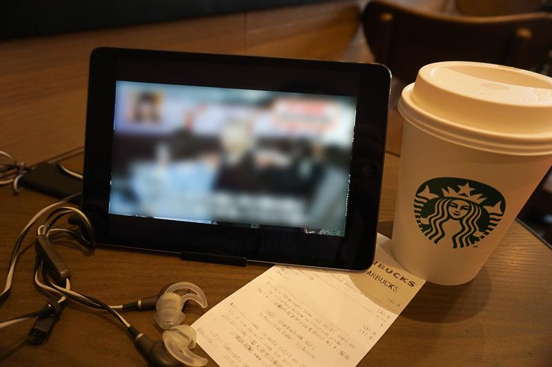 設定が済むまでは、日本から持ってきたiPad miniでSlingboxに接続してTV視聴