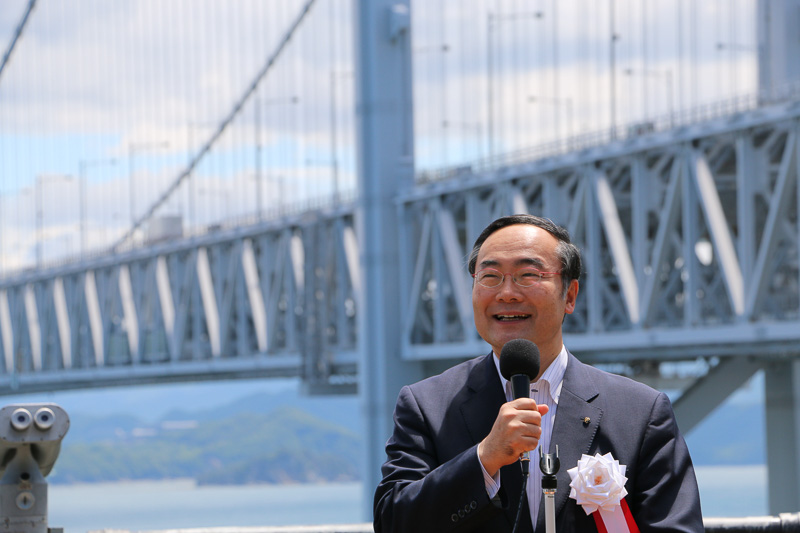 徳島県知事の飯泉嘉門氏