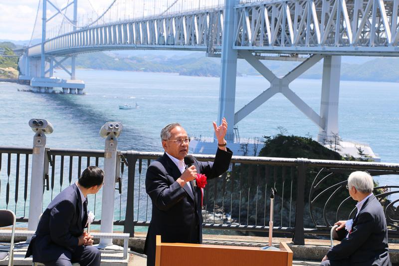 三原社長の言葉に両知事も橋に注目
