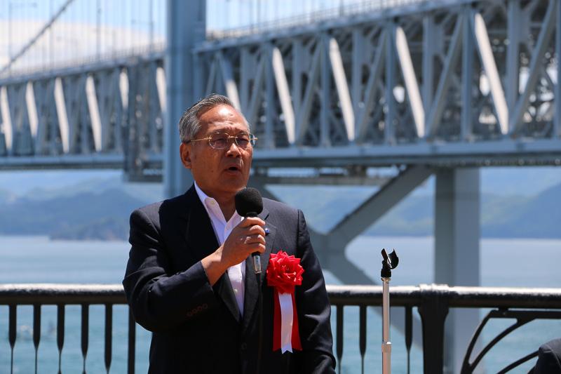 本州四国連絡高速道路代表取締役社長の三原修二氏